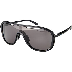Oakley Outpace Lunettes de soleil, black ink/warm grey